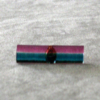 Breast Ovarian Cancer Awareness Bar Pin